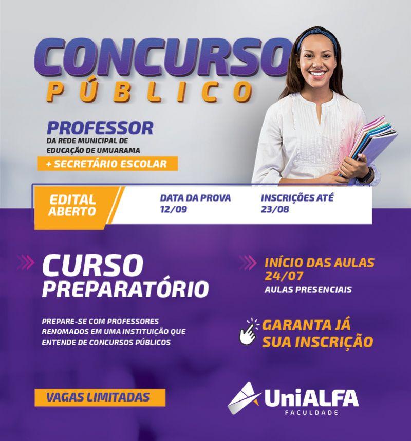 Banner Concurso Professores