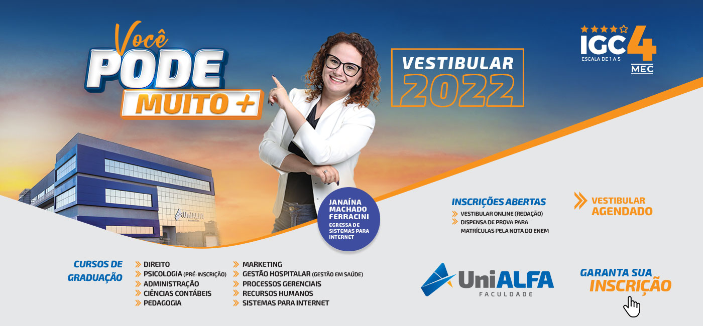Vestibular 2022 - Janaina