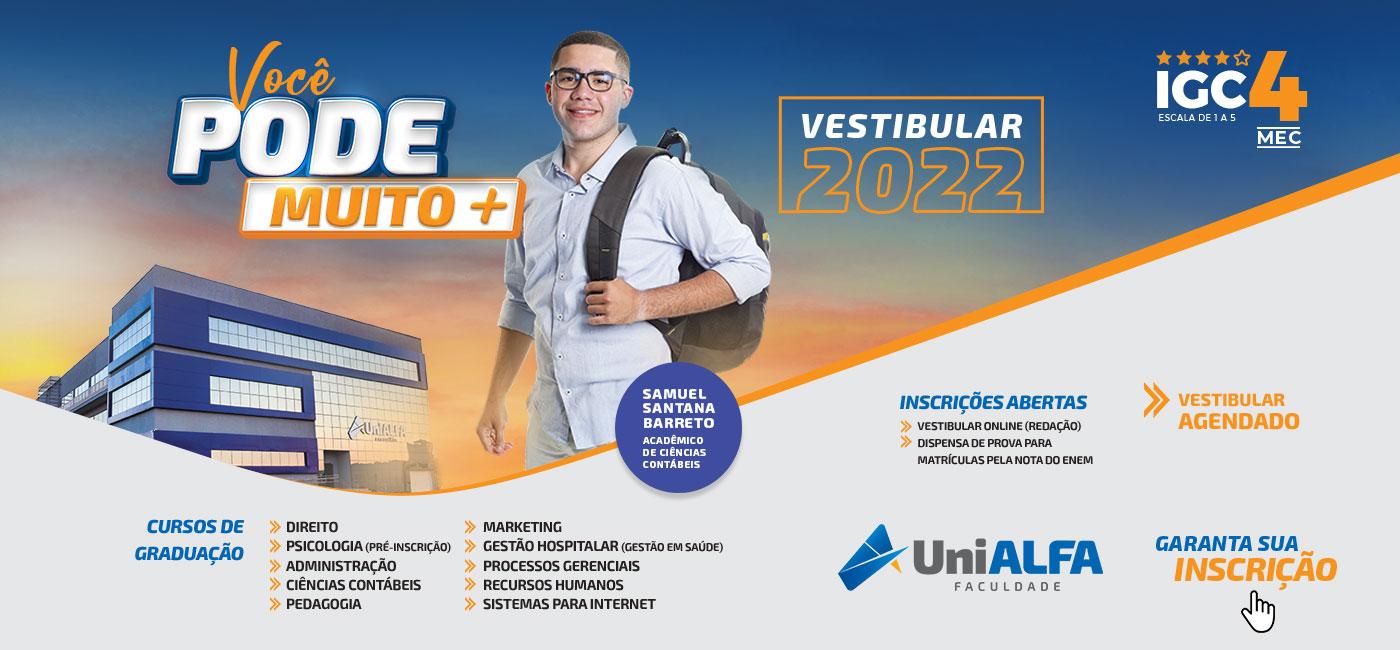 Vestibular 2022 - Samuel